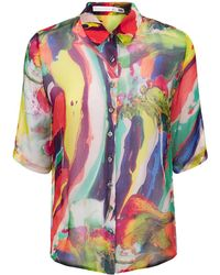 Klements - Mildred Shirt In Magma Print - Lyst