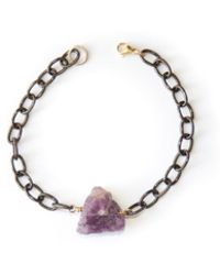 Amundsen Jewellery - Amethyst Bracelet - Lyst