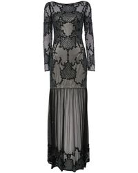 Raishma - Embellished Sheer Maxi Dress - Lyst