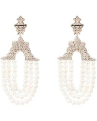 LÁTELITA London - Marrakech Earring Pearl - Lyst