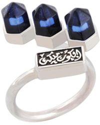 Jude Benhalim - Cluster Ring Blue - Lyst