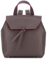 Alexandra De Curtis - Hepburn Mini Backpack Taupe - Lyst