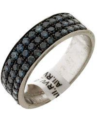 Artisan 18k Gold Sapphire Band Ring