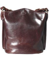 Maxwell Scott Bags - Luxury Italian Leather Women's Tote Bucket Bag Palermo Chocolate Brown - Lyst