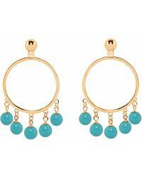 Eshvi - Turqoise Earrings - Lyst
