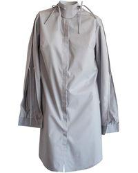 CONSTANTINE/RENAKOSSY - Grey Shirt With Petal Sleeve - Lyst