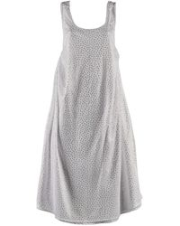 .MCMA. London - Stardust White Flowy Dress - Lyst