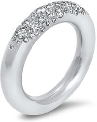 Hargreaves Stockholm - Commitment B White Gold & Diamond Eternity Ring - Lyst