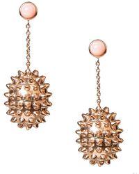Alexandra Alberta - Durian Rose Pink Opal Earrings - Lyst