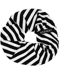 Scenery Label - Stripes Scrunchie - Lyst