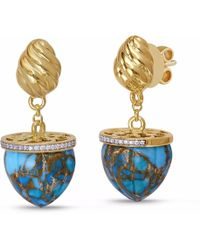LMJ - Glory Of The Sun Earrings - Lyst
