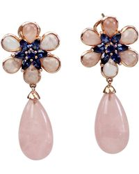 Bellus Domina - Amare Flower Earrings - Lyst
