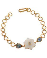 Emma Chapman Jewels | Jamila White Moonstone Bracelet | Lyst