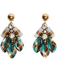 Nocturne - Lihua Earrings Clip - Lyst