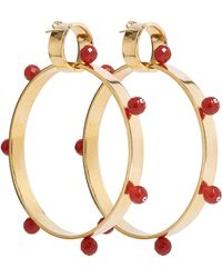 A. Carnevale - Gold/red - Lyst