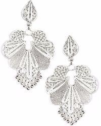 Kitik Jewelry - Raymi Silver Earrings - Lyst