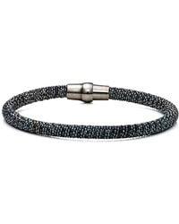 Durrah Jewelry - Graphite Spring Bracelet - Lyst