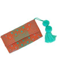 Soi 55 Lifestyle - Conchita Mexican Beach Clutch Purse Carmita - Lyst