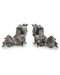 Bellus Domina - Angel Wing Stud Earrings - Lyst