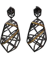 Bellus Domina - Lemon Citrine Hexa Earrings - Lyst