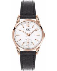 Henry London - Ladies 30mm Richmond Leather Watch - Lyst