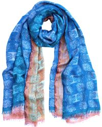 Medley Creations - Two Faced Stole - Lyst