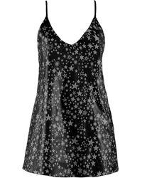 .MCMA. London - Stardust Leather Mini Dress - Lyst