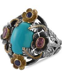 Emma Chapman Jewels - Liberty Turquoise Sapphire Ring - Lyst