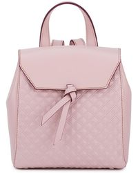 Alexandra De Curtis - Hepburn Mini Backpack Blush Pink Scudo - Lyst