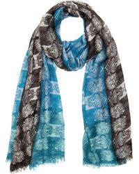 Medley Creations - Mainframe Tricolour Scarf - Lyst