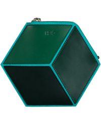 HEIO - The Cube Mitjana Small Clutch - Lyst