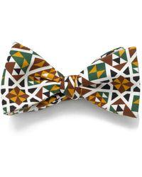 Mark Giusti - Mosaic Bow Tie Palantina - Lyst