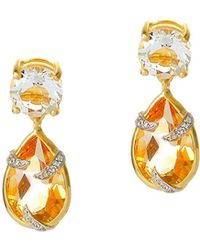 Alexandra Alberta - Runyon Canyon Citrine Earrings - Lyst