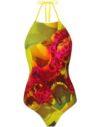 Urchindeep - Lemon Swimsuit - Lyst