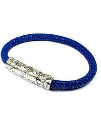 Clariste Jewelry - Women's Turquoise Stingray Bracelet With Gold Lock - Lyst