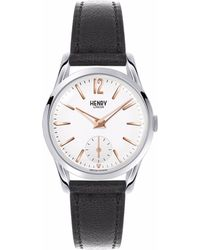 Henry London - Ladies 30mm Highgate Leather Watch - Lyst