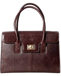 Maxwell Scott Bags - Chocolate Brown Ladies Leather Laptop Bag The Fabia - Lyst