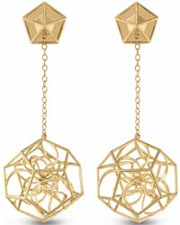 Vitae Ascendere - Dodecahedron Earrings - Lyst