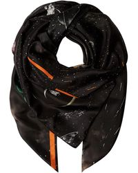 Klements - Square Scarf In Kosmos Print - Lyst