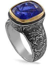 Emma Chapman Jewels - Bibi Tanzanite Mughal Art Ring - Lyst