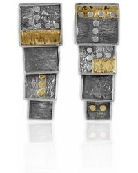 Katarina Cudic - Elements Long Square Earrings - Lyst