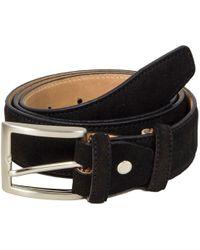 40 Colori - Black Trento Leather Belt - Lyst