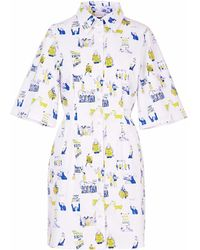 Acephala - Neo Suffragette Printed Dress - Lyst