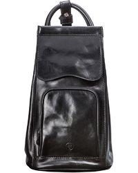 9c95e112a734 Maxwell Scott Bags - Luxury Italian Leather Women s Backpack Handbag Carli  Black - Lyst