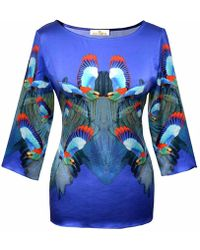 Jennifer Rothwell - Hummingbird Print Top - Lyst