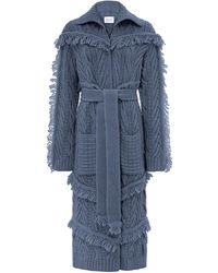Hayley Menzies - Long Etta Cardi-coat Denim - Lyst