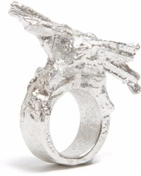 Loveness Lee - Gokotta Chunky Striking Silver Ring - Lyst