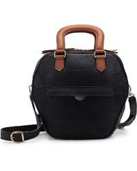 NINE TO FIVE - Mini Bag Eisbach Black Caramel - Lyst