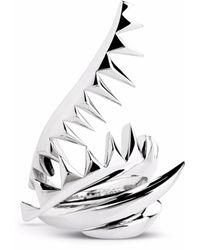 Kasun Serpent Ring Silver - Metallic