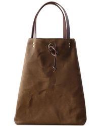 dorayaky - Cris Brown Waxed Canvas Bag - Lyst